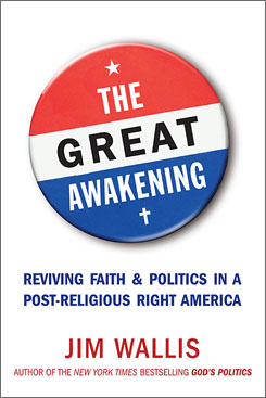 Jim Wallis is the voice of the progressive evangelical left.
