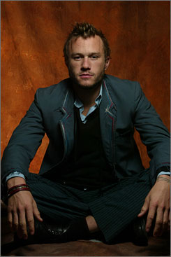 Icon in the making?: Heath Ledger died last week at age 28. The actor was nominated for an Oscar in 2006 for Brokeback Mountain.