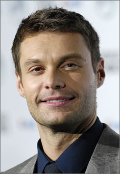 Ryan Seacrest has the sexiest smile, according to Victoria's Secret. He and other celebs are part of the lingerie company's 2008 What Is Sexy? list.
