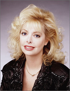 Shell Kepler, shown here in 1992, enjoyed a long run on the soap opera General Hospital.  She died Friday at the age of 49.