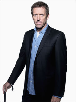Aprs Super Bowl: Hugh Laurie starred in a new episode of House.
