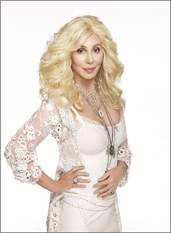 "Bang bang: ""A different stage for every song,"" Cher says."