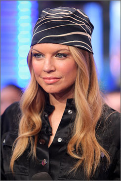 Is Fergie almost O-V-E-R?