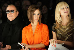 The fashion police: Project Runway judges Michael Kors, Victoria Beckham and Heidi Klum watch the collections of Season 4's finalists in New York. Find out who won on the last episode, which airs March 5 on Bravo.