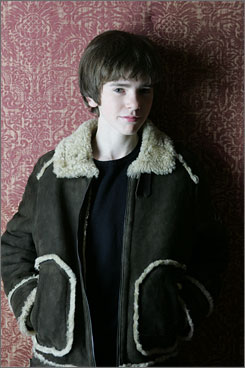 Sweet 16: Freddie Highmore stars in The Spiderwick Chronicles, out Thursday, his 16th birthday.