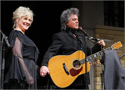 Marty Stuart and Connie Smith gave a sweetheart gift to the Country Music Hall of Fame and Museum on Wednesday, the day before Valentine's Day. The couple, who are married, donated bluegrass great Lester Flatt's 1950 Martin D-28 guitar along with several other items from their personal collections of music artifacts and memorabilia.