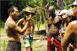 Survivor: Sure, Micronesia would look especially nice in high-definition, but reality shows are in no hurry to switch.