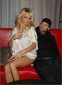 Pamela Anderson and Rick Salomon were married last October.