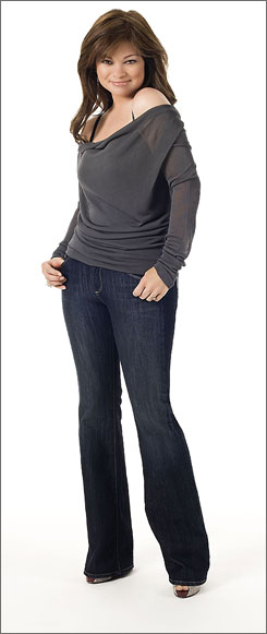 Slimming down: Bertinelli is now a Jenny Craig spokeswoman.