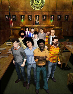 Chicago 10 is a mix of animation and archival footage of the trial of 10 Vietnam War protesters in 1968.
