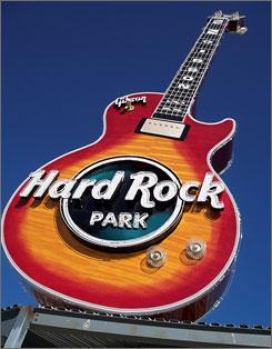 Good golly, Miss Myrtle Beach: A 150-acre theme park needs a big guitar: the 70-foot Gibson.