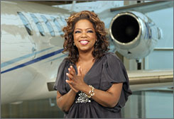 Three Idols and an Oprah: Winfrey's  charity contest ranks fourth.