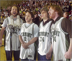 Phish, here singing the national anthem before the start of the America East men's championship basketball game in March 2004, will receive a lifetime achievement award.