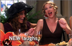 NEW campaign: ABC's post-strike promotions tout shows including Samantha Who? Jennifer Esposito and Christina Applegate return April 7.