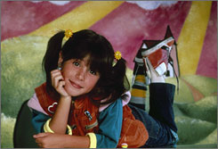 Punky Brewster: Soleil Moon Frye mismatched the shoes.