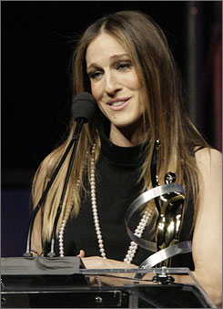 "Vanguard winner Sarah Jessica Parker on Sex's enduring allure: ""I've never tried to figure out why the show struck the chord that it did. But it was just so hard to believe that they cared for it four years after we went off the air."""