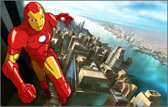 Iron Man: Comic book and movie character is recast as teen for TV.