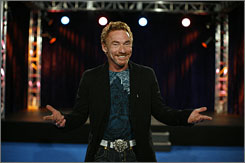 "Been there: Former child star Danny Bonaduce oversees the reality  talent competition. ""Some of these kids don't have talent,"" he says."