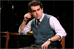 Brian d'Arcy James has starred in musicals such as The Apple Tree,Sweet Smell of Success and Titanic.