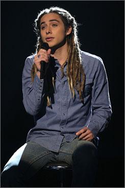 Jeff Buckley's version: Download sales took off after Jason Castro performed Hallelujah on American Idol.