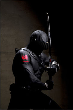 Ray Park, who played Star Wars' menacing, memorable Darth Maul, plays another strong, silent type in G.I. Joe: Snake Eyes.