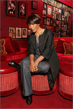 Independent woman: Angela Bassett says she learned that lesson from her single  mother. But : &quot;I've realized that it's all about relationships and we all need each other.&quot;  