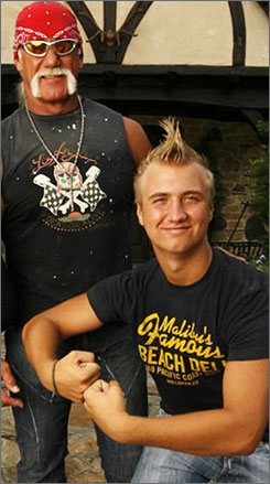 Lawyers for Nick Bollea's injured passenger are going after the bank account of his famous dad, wrestler-turned-reality star Hulk Hogan.