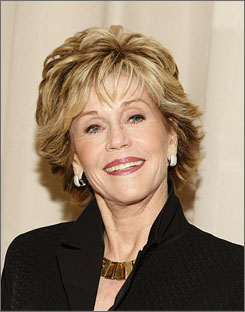 Fonda: She's well  into her Third Act.
