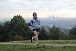 Run Simon Pegg Run: Film's star also co-wrote the Fat Boy script.