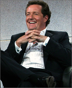 Donald Trump pickedAmerica's Got Talent judge Piers Morgan as his first Celebrity Apprentice champ.