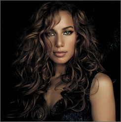 British idol: Leona Lewis won talent competition X-Factor.