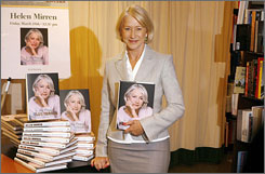 Picture perfect: Oscar winner Helen Mirren tells the story of her life with photographs in her memoir In the Frame.