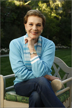 "Going Home again: Julie Andrews' book, Home: A Memoir of My Early Years, tells her story up to 1963.  ""If I was going to write it, I'd better do it as truthfully as I could,"" she says. The book arrives Tuesday."