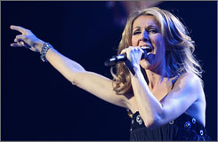 """I'm really sorry that things couldn't be worked out for the concert in Beijing. I was really looking forward to it,"" Celine Dion said."