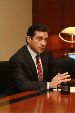 Spinoff city: The Office spinoff will include some current cast members, but there's no word on if the bumbling Michael Scott (Steve Carell) is joining the new show.