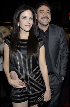 Mary-Louise Parker has ended her relationship with Jeffrey Dean Morgan, according to a person close to the former couple.