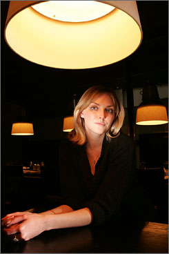 Famous family: Sophie Dahl, granddaughter of Roald. 