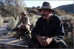 Seeing black: Daniel Day-Lewis' ruthless oil baron stops at nothing.