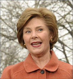 "Laura Bush will be ""guest host"" for an hour of NBC's Today show next week."