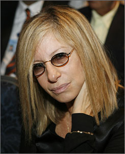 Barbra Streisand donated $5 million toward a research and education program on women's heart disease at Cedars-Sinai Medical Center in Los Angeles.