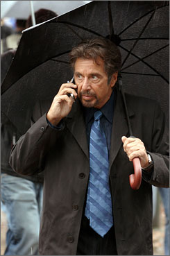 Who is it? It's the killer whom forensic psychologist Jack (Al Pacino) testified against.