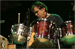 The beat goes on: Drummer Mickey Hart, one of the remaining living former members of the Grateful  Dead, will play the San Francisco stage for Sunday's multi-city Green Apple Festival.