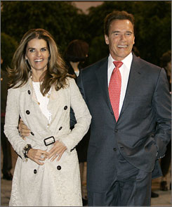 Arnold Schwarzenegger and Maria Shriver bought a piece of land in an exclusive coastal enclave in Santa Barbara County for $4.7 million. The Santa Barbara area has long been a magnet for celebrities, from Oprah Winfrey to Michael Jackson.