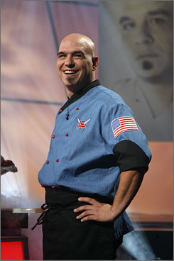 Michael Symon won The Next Iron Chef in 2007 and owns two restaurants in Cleveland.