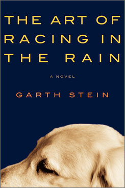 Garth Stein's The Art of Racing in the Rain  is the latest Starbucks book selection.