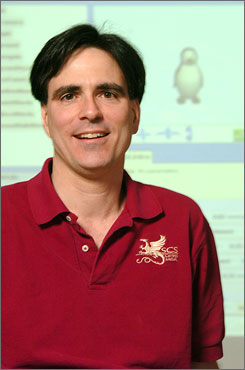   Pausch: Tracks his  illness on website.