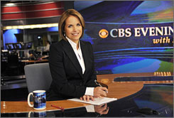 Couric: Ratings for CBS Evening News have suffered.
