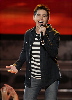 This week, the final four, including David Archuleta,  will sing influential rock 'n' roll songs.