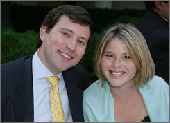  A smaller affair: Jenna Bush and Henry Hager will be married at the Bushes' ranch with about 200 friends and family members in attendance.