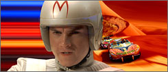 Emile Hirsch stars as Speed Racer.